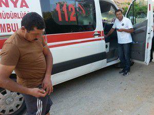 Konyada komşu kavgası: 2 yaralı