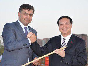 Çin Yuexiu Parkı ve Biyolojik Gölet açıldı