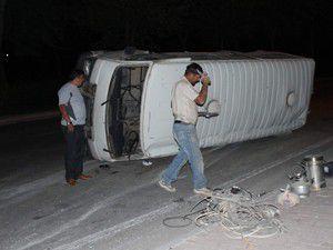 Sahur yolunda kaza 4 yaralı