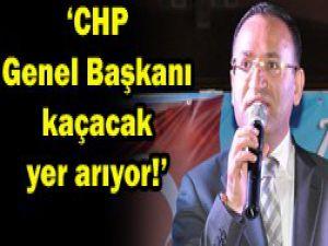 CHPnin Genel Başkanı kaçış yolunda