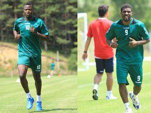 T.Konyasporun yeni transferleri kampa katıldı