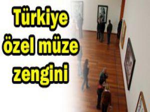 """Türkiye """"özel müze zengini"""""""