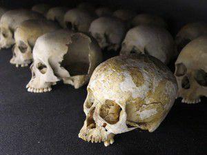 Avusturyada bir evde 56 kafatası bulundu