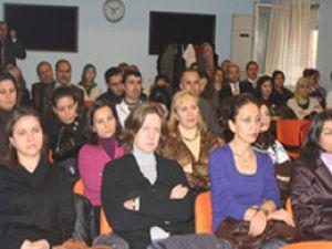 Konyada kadına şiddet eğitimi