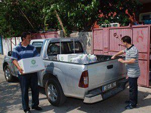 Meramdan 5 bin aileye gıda paketi