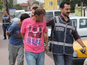 Hırsızlık için Ankaradan arkadaşını çağırmış