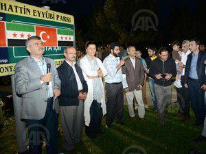 Suriyeli sığınmacılar Konyada iftarda buluştu