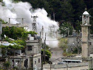 Suriyede kimyasal silah iddiası