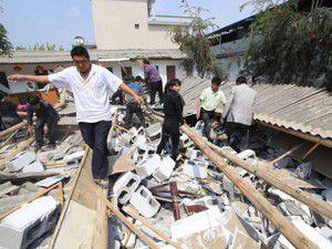 Çinde 6,6lık deprem