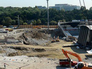 BJK İnönü Stadında arkeolojik inceleme