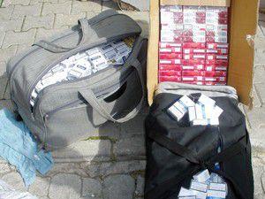 2 bin 190 paket kaçak sigara ele geçirildi