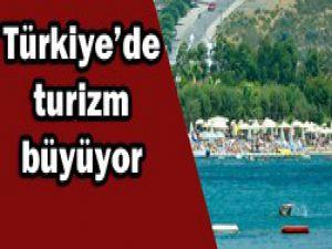Turizm geliri yüzde 22,8 arttı
