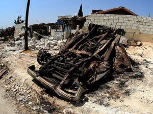 Suriyede askeri konvoya saldırı: 20 ölü