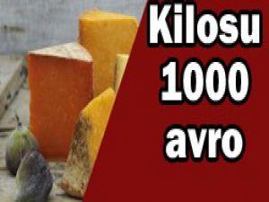 Bu peynirin kilosu 1000 avro