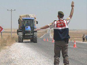 Jandarmadan çiftçilere kaza uyarısı