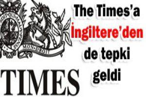 The Timesa tepkiler sürüyor