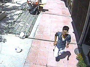 Hırsızı güvenlik kamerası yakalattı