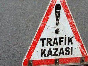 Konyada trafik kazası 2 yaralı