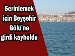 Beyşehir Gölünde kayboldu!