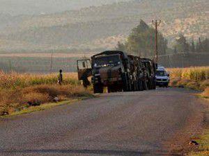Kaçakçılar askerlere tüfekle saldırdı