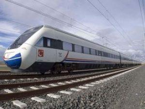 Hızlı tren hattı yeşilleniyor