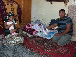 Genç çiftin üçüz bebek çaresizliği