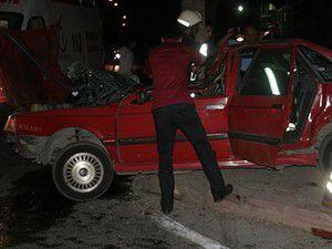 Konyada trafik kazası: 2si ağır 4 yaralı