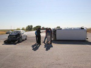 Karaman-Konya yolunda kaza: 11 yaralı