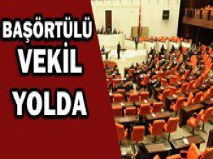 Başörtülü vekiller meclise girebilecek