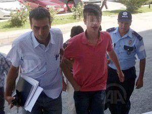 Cinayet şüphelisi genç tutuklandı