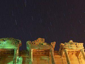 Göktaşı yağmuru antik kentten gözlemlendi