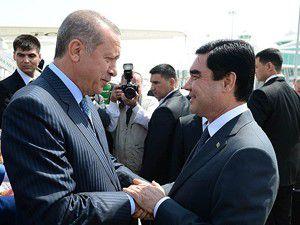 Başbakan Erdoğan Türkmenistanda