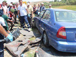 Otomobil kardeşlere çarptı: 2 ölü 3 yaralı