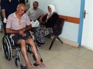 Yaşlı adamı darp edip silahla yaraladılar!