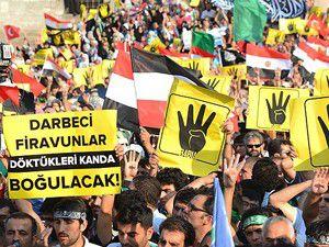 """""""Rabia"""" işareti dünya gündemine oturdu"""