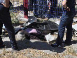 Konyada trenin çarptığı kadın öldü