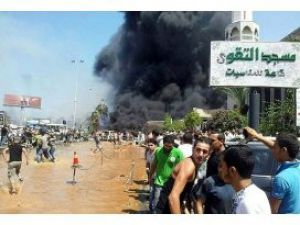 Cuma çıkışı camileri bombaladılar 32 ölü