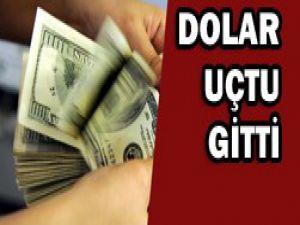 Dolar, 2,0097 ile tarihi zirveyi gördü