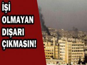 Suriyede saldırı tatili