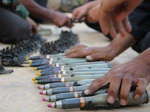 Esed rejimi mühimmat depolarını boşaltıyor