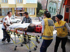 İki ayrı trafik kazası; 3 yaralı