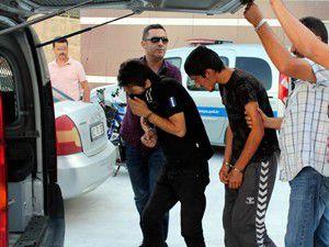 Konyada 6 hırsızlık şüphelisi yakalandı