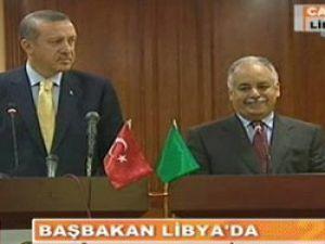 Başbakan Erdoğan, Libyayı mest etti