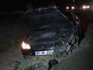 Konyada iki otomobil çarpıştı 10 yaralı