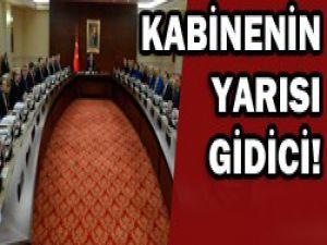 Erdoğan kabinesinde değişim rüzgarı