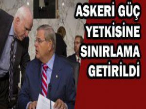 Komiteden Obamaya Suriye için onay