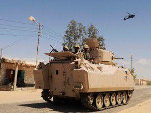 Mısır ordusu Sinayı vurdu: 31 ölü