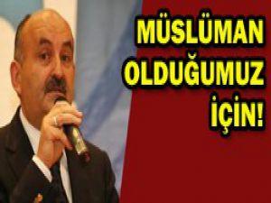 Asıl sorun Türklerin Müslüman olması