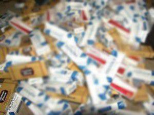 20 bin paket kaçak sigara ele geçirildi