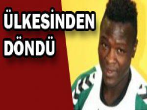 Ndouassel Konyaya döndü!